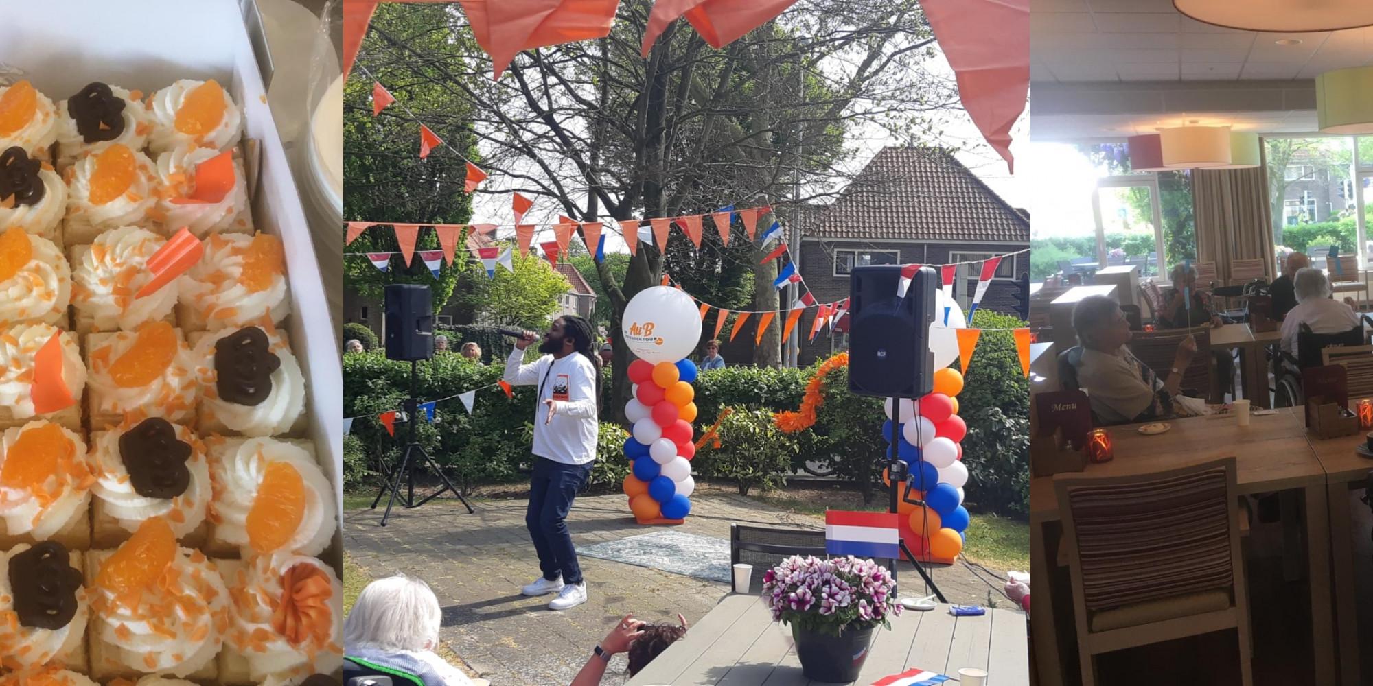 Koningsdag bij Godelinde in Bussum