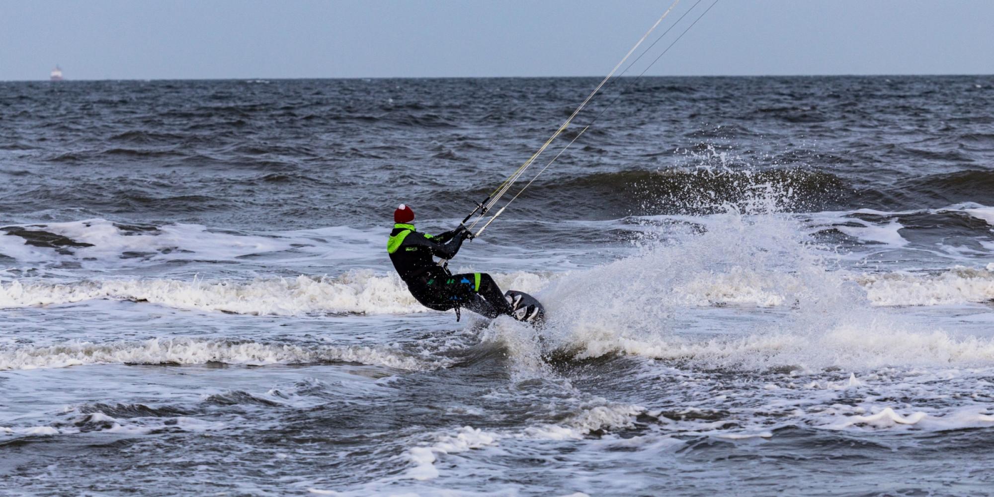 Kitesurfer stock