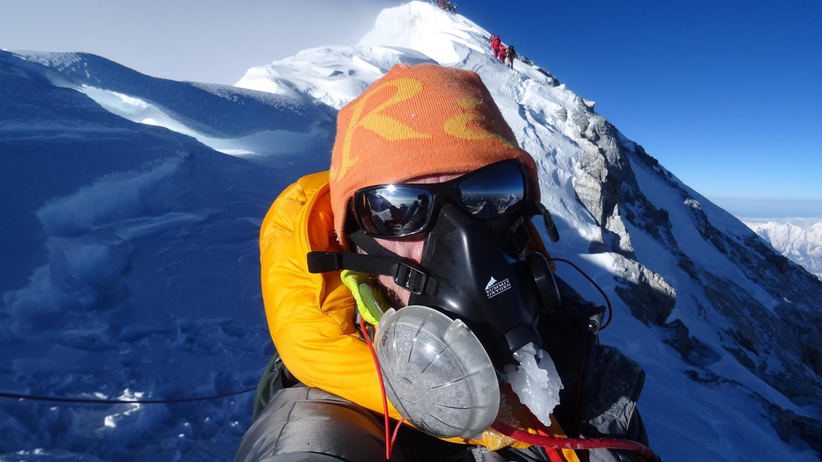 Wilco Dekker onderweg naar de top van de wereld
