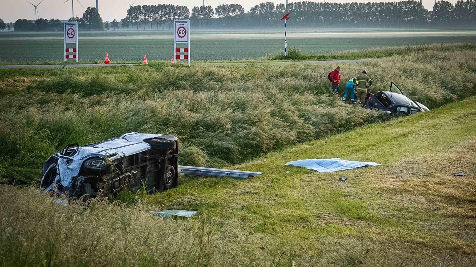 Tweede dode bij ernstig ongeval op de N240 in Middenmeer.