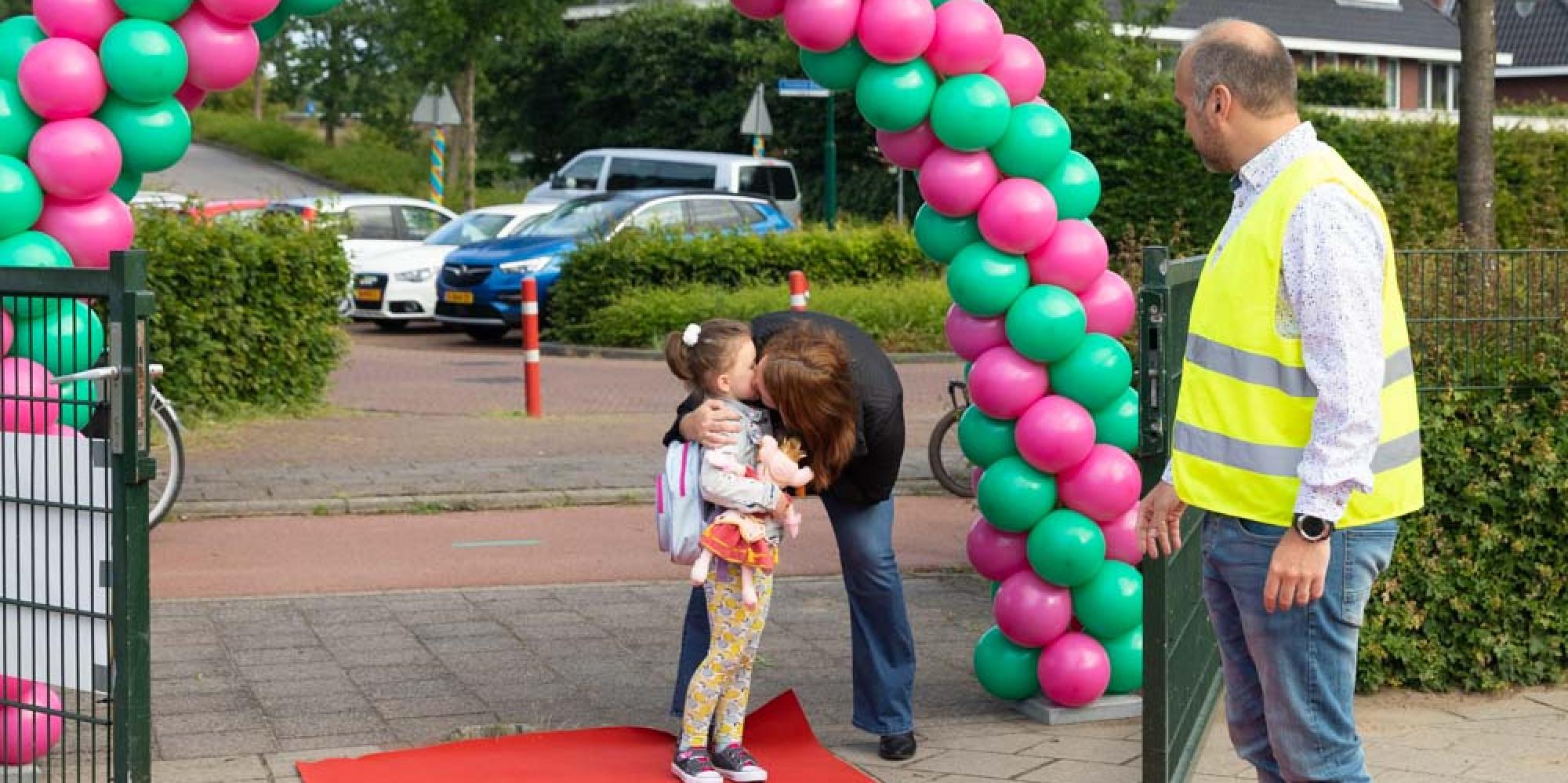 Feestje: weer volle schoolklassen op basisschool