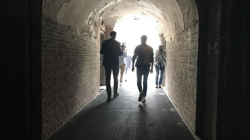 Het gangenstelsel van Pampus