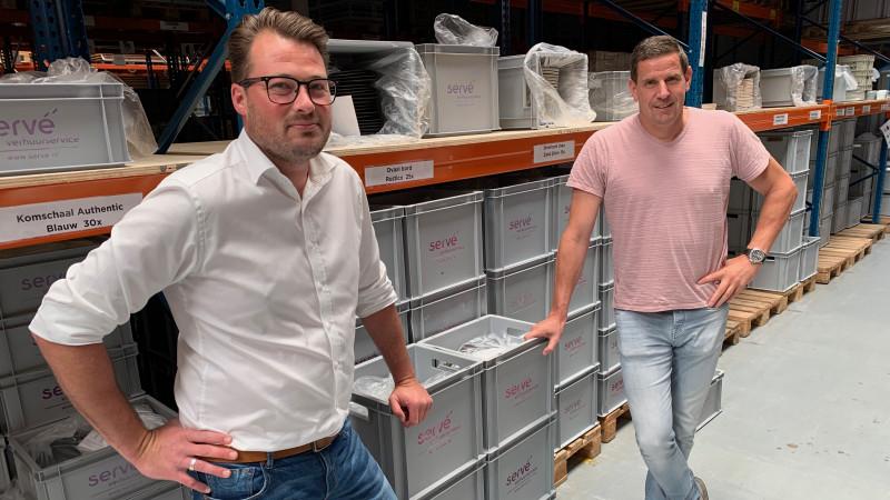 Daan Freriks en Jan van Rijswijk van Servé